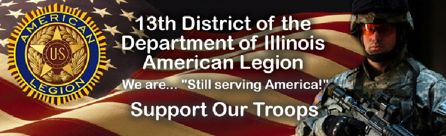 13th District, Department of Illinois American Legion